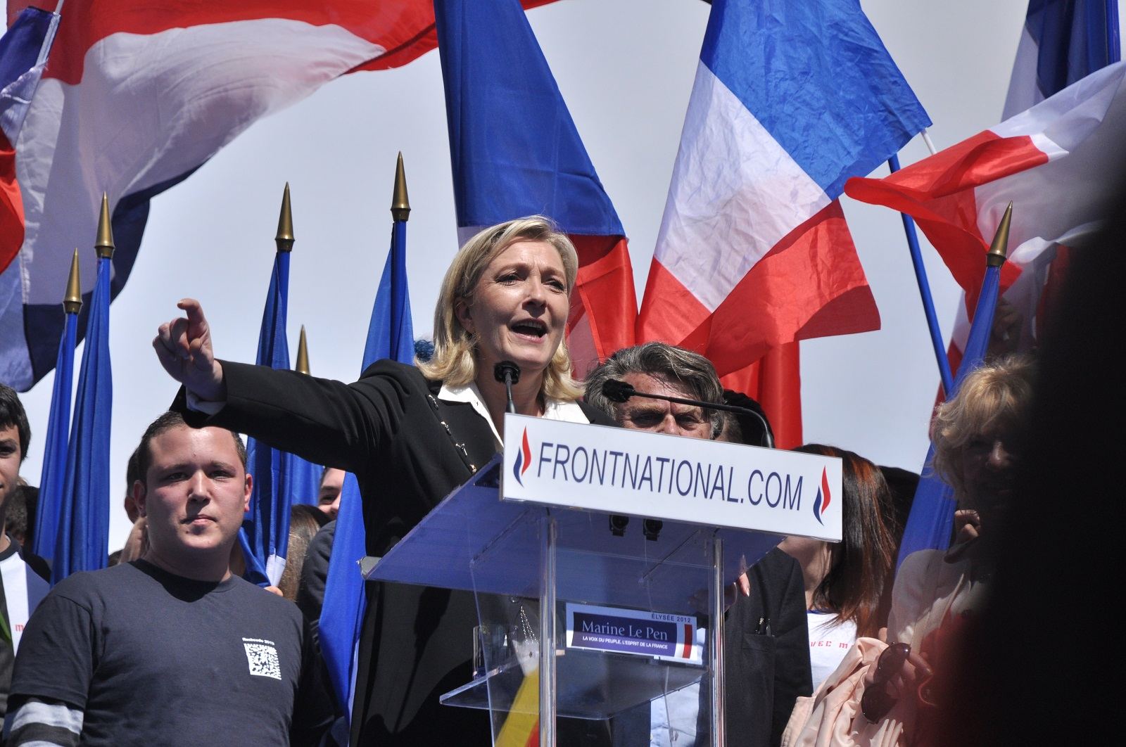 Meeting 1er mai 2012 Front National Paris 45
