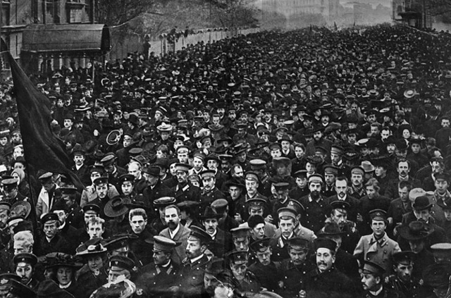 Russian Revolution Cover Photo