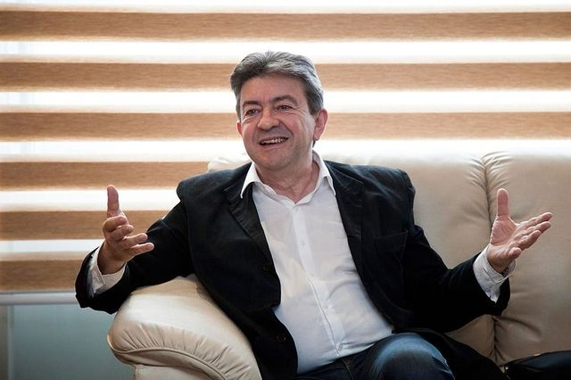 Leftwing JeanLuc Mélenchon was the most popular politician in France Image public domain