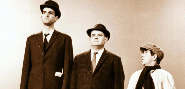 iconic-imagery-of-the-three-tiered-class-system-featuring-the-two-ronnies-and-john-cleese-image-1-517986191