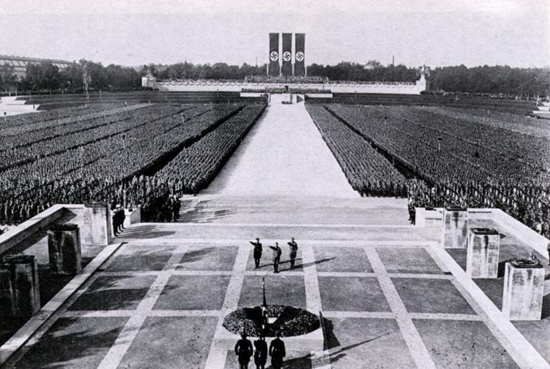 Nazi party rally grounds 1934